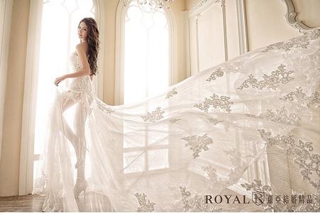 【蘿亞法式高級訂製服】白紗