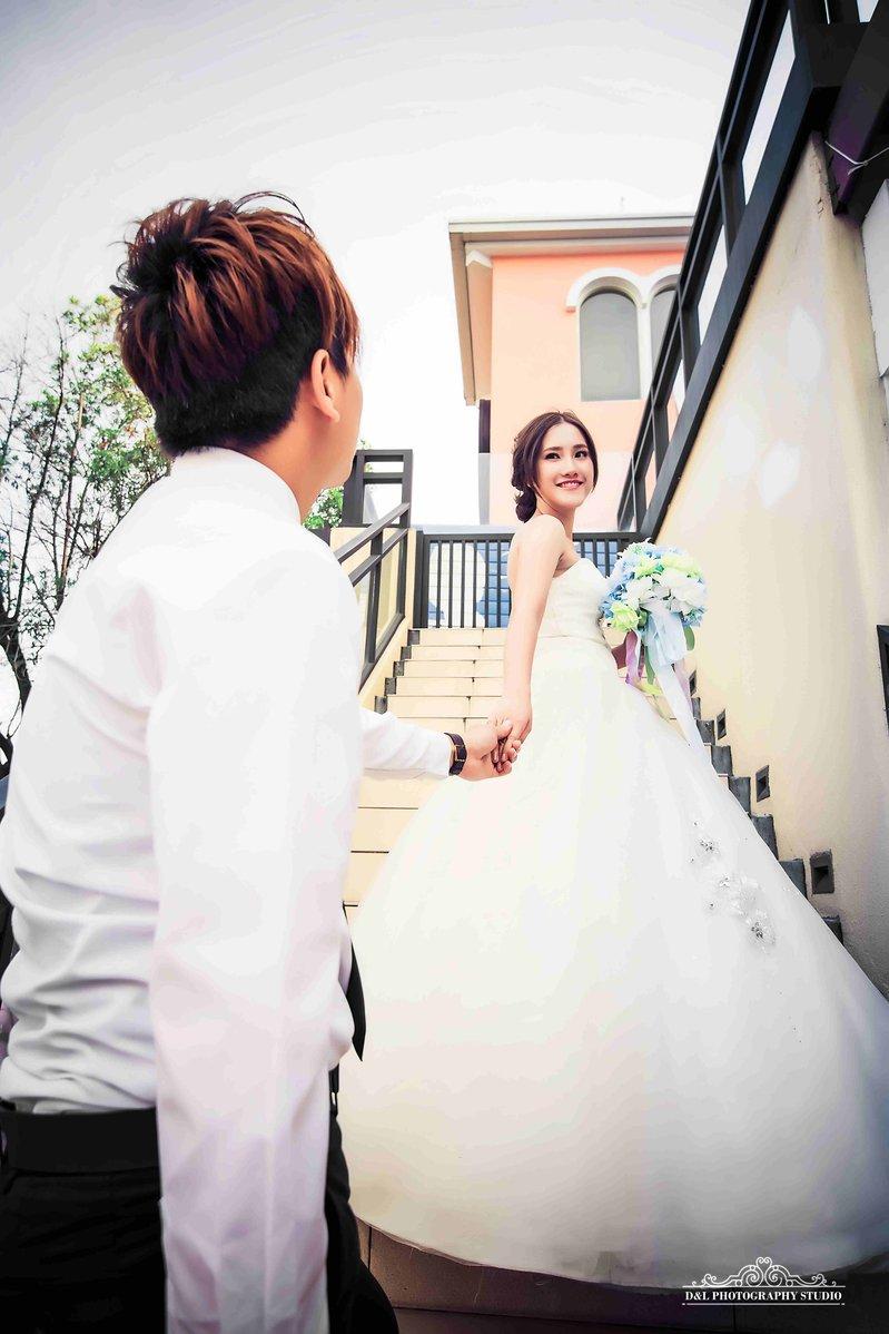 婚紗寫真作品