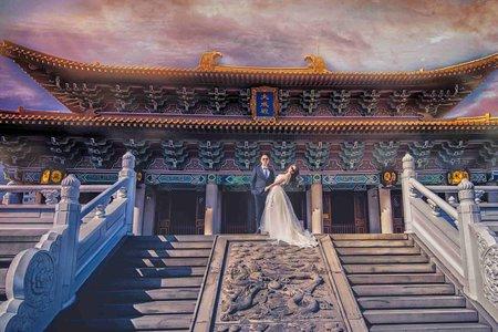 (D&L 婚禮事務)婚紗攝影 孔廟