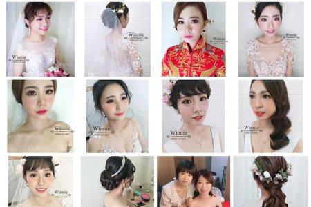 Winnie 細膩的新娘單妝髮