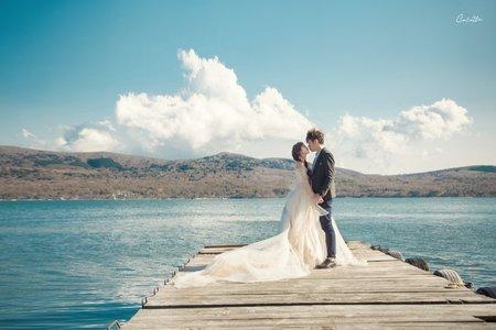 女攝影師/自助婚紗攝影/婚紗單拍