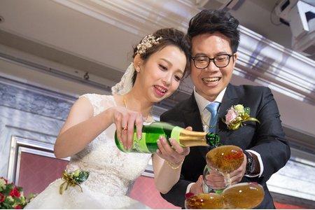 105.12.25 汐止文定、婚禮紀錄(寬和宴展館)