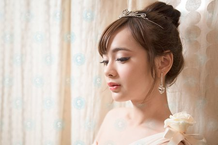 新娘棚拍丸子造型