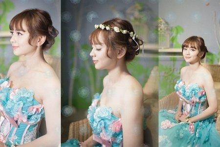 新娘棚拍花仙子造型