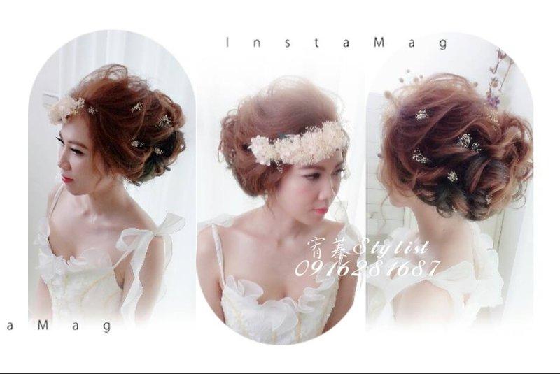 新娘秘書/舞台表演彩妝造型/自助婚紗作品