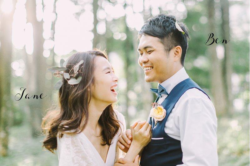 與你笑開懷,這樣拍婚紗最自然