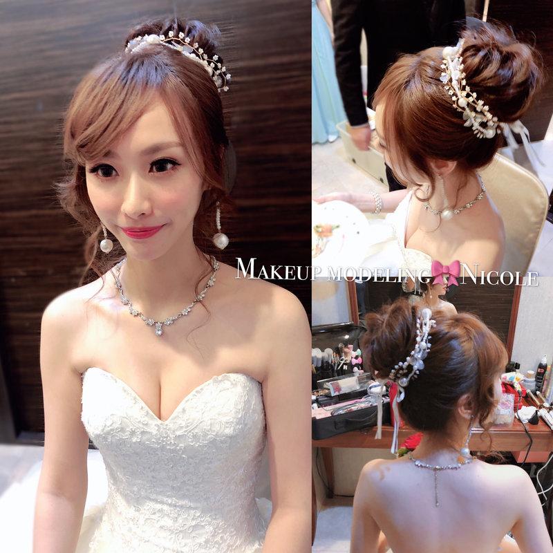 新娘單妝髮/雙儀式妝髮 新娘秘書服務作品