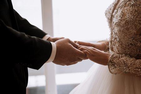 婚禮紀錄|廣築 ❤ 士貽 全國麗園大飯店