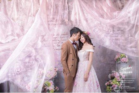給記憶裡,親愛的你-紗法亞精品婚紗Sapphire Wedding