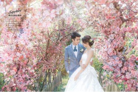 紗法亞sapphire wedding 婚紗相本