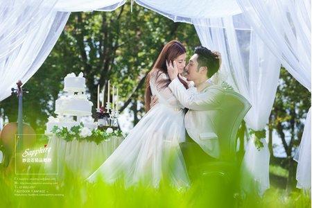 午會約會-紗法亞Sapphire wedding婚紗相本