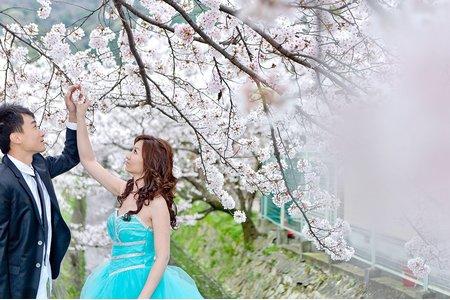 日本 自助婚紗 大阪 京都 自主婚紗 Winne&Sam