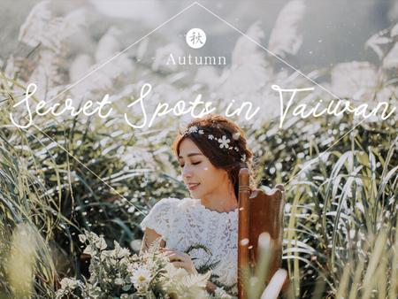 13張台灣季節限定婚紗照,在芒草、瀑布、硫煙裡體驗祕境婚紗之旅!