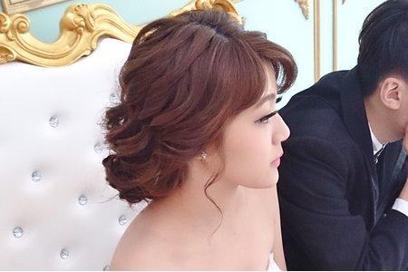 ❤️線條盤髮