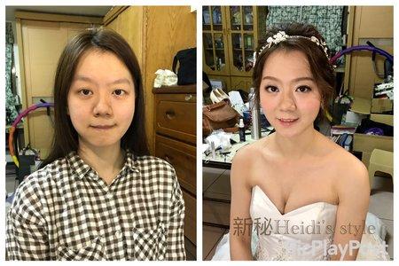 ❤️化妝對比照