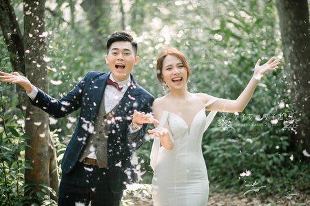 栗子花 栗子雞-小品婚紗