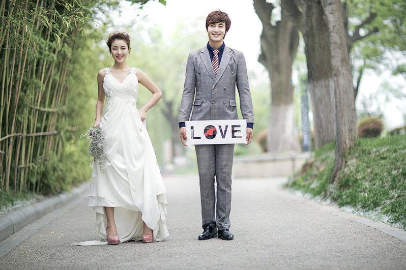 自助婚紗攝影 婚紗攝影包套 個人寫真作品