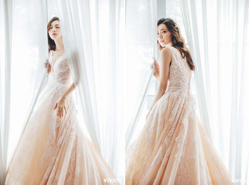 挑婚紗,禮服,身型