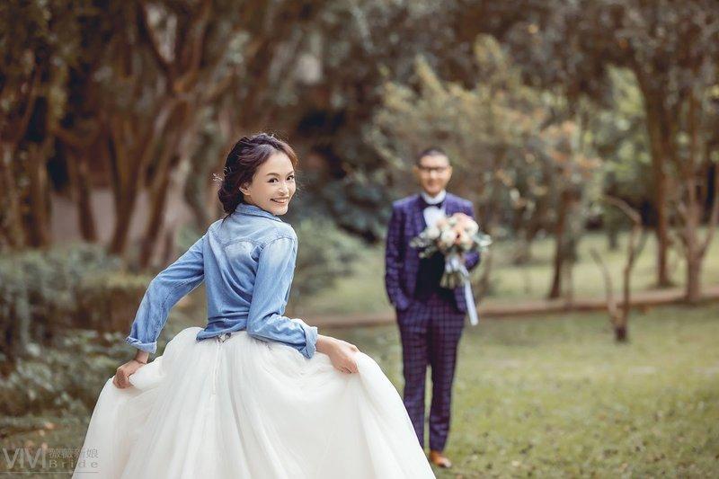 拍婚紗,婚紗照,自然感婚紗