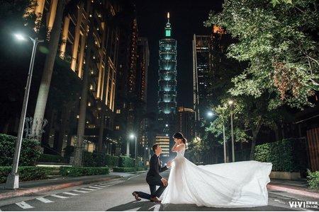 手工婚紗包套 59800 方案