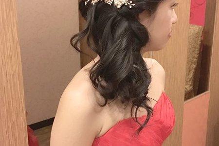 [新秘]婚宴造型(黑髮新娘)
