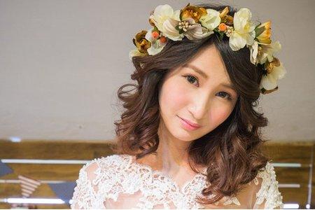 浪漫甜美新娘造型