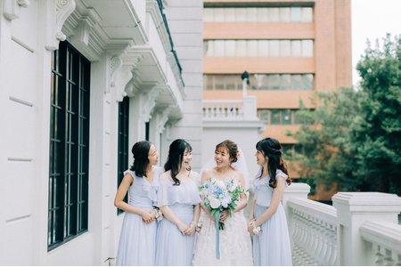 翡麗詩莊園新娘秘書/西式婚禮造型