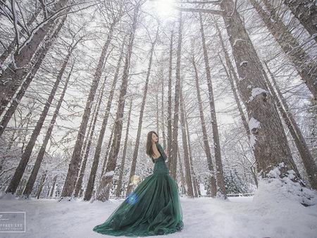 出國拍雪地婚紗好夢幻,拍雪婚紗妳一定要懂的5件事!