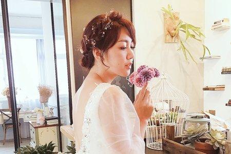 [my bride] 必點氣質盤髮、包頭系列1