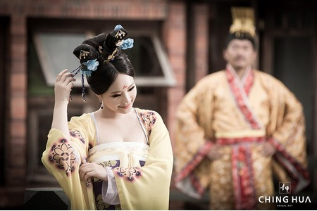 <青樺婚紗>特色婚紗-武媚娘x101夜店
