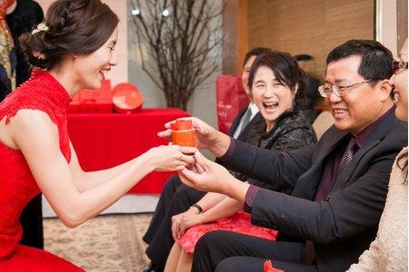 <青樺婚紗>婚禮紀錄-自宅/台北西華飯店