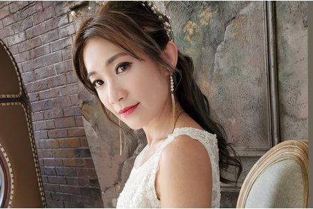 歐美新娘髮型