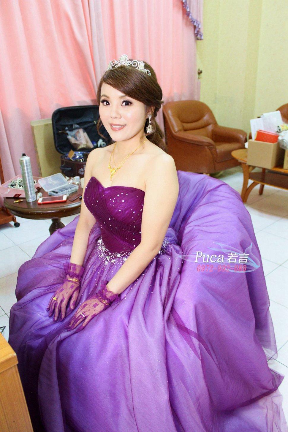 (編號:194481) - 若言新娘秘書韓式妝髮 - 結婚吧一站式婚禮服務平台