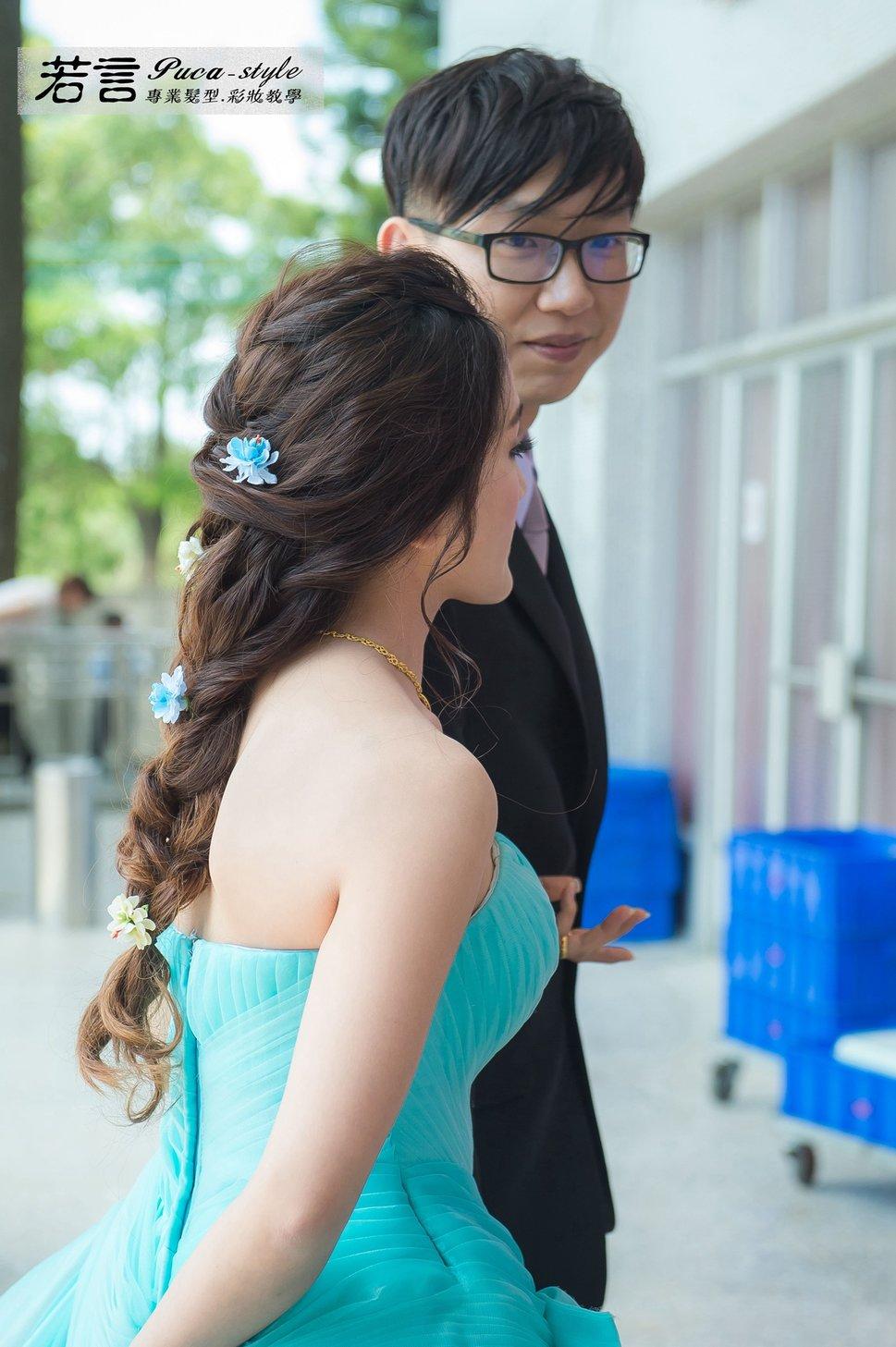 (編號:194526) - 若言新娘秘書韓式妝髮 - 結婚吧一站式婚禮服務平台