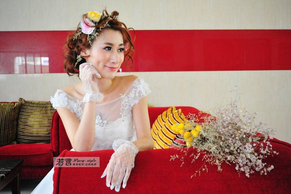 (編號:227981) - 若言新娘秘書韓式妝髮 - 結婚吧一站式婚禮服務平台