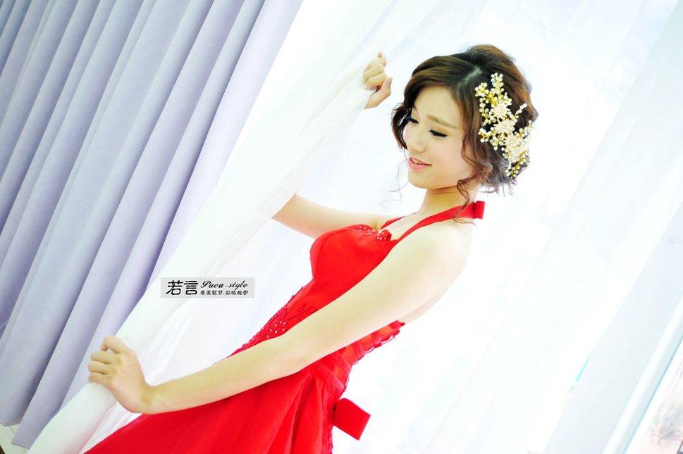 (編號:238574) - 若言新娘秘書韓式妝髮 - 結婚吧一站式婚禮服務平台