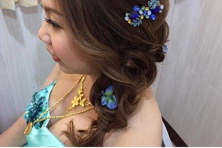 甜甜俏麗編髮
