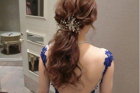 線條感髮型