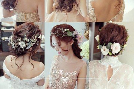 指定率極高~婚禮精緻髮型❤