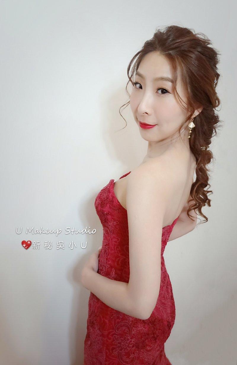 嘉義新秘 嘉義新娘秘書-美人魚編髮