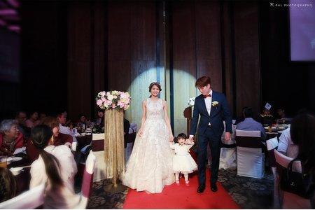[ 婚禮紀錄 ] Nick & Yumi_台南晶英酒店