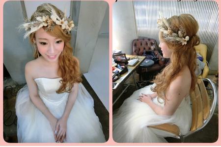 新娘秘書婚禮造型
