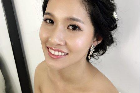 新娘秘書髮妝造型梳化服務