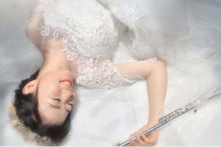 音樂與婚紗