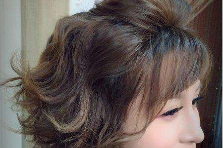 短髮女孩 大改造。子恩AnYa
