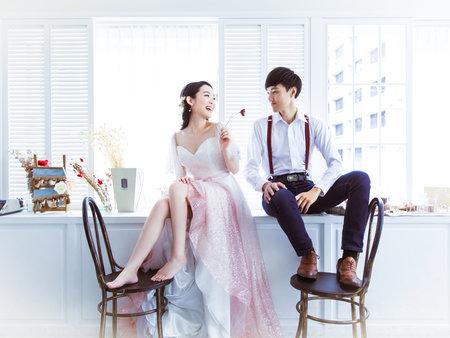 幸福的婚紗照是有溫度的婚紗照~