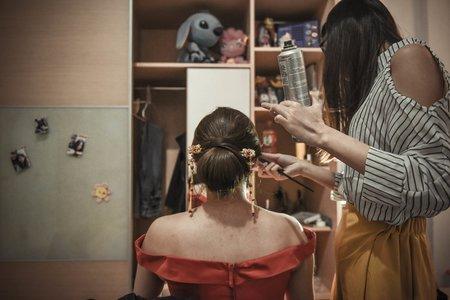 Dora makeup-apple 宜蘭囍宴