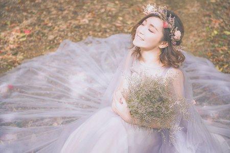 外拍婚紗造型