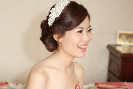韓系風格浪漫編髮新娘造型
