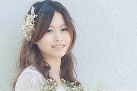 清新風格韓系新娘造型
